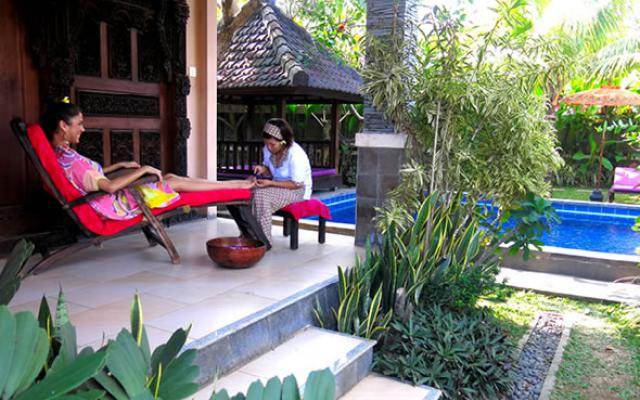 Spa Canggu - Spa Bliss Sanctuary : foot treatment