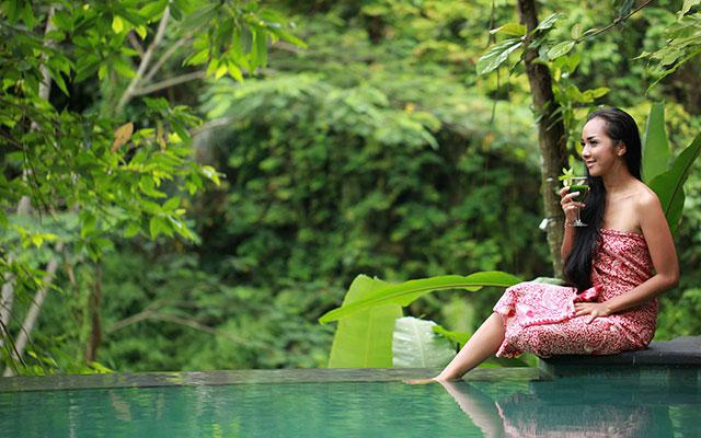 Ayusha Wellness Ubud - Pool